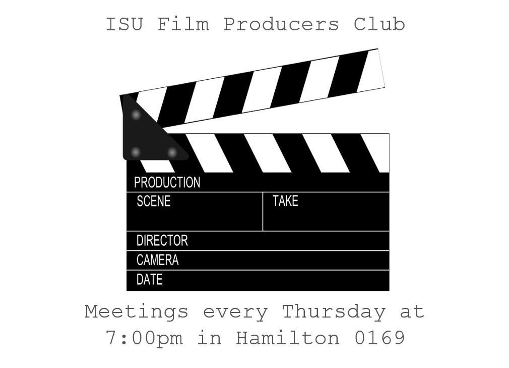 Isu Film Producers Club Iowa State University Student Organizations