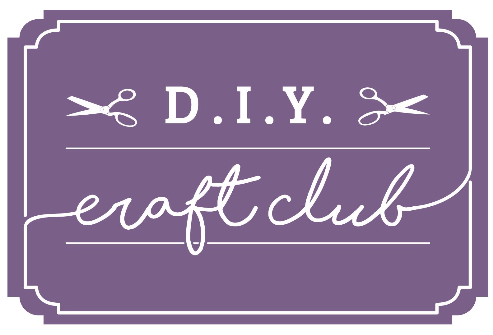 DIY Craft Club Header